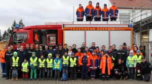 Lampertheim Lokales / Christbaumaktion der Jugend-Feuerwehr Hofheim/olo