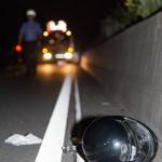 06.06.2018 Lampertheim Verkehrsunfall B44, Roller - Auto, 1 Schwerverletzter (Stand 3:00)